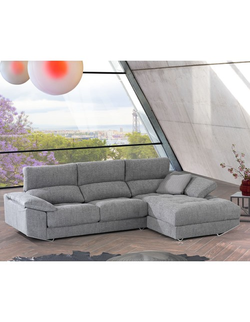 Divani Star Sofá Chaiselongue modelo Zeus