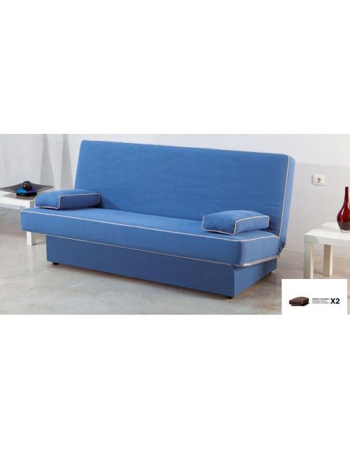 Sofá cama libro modelo Jaén