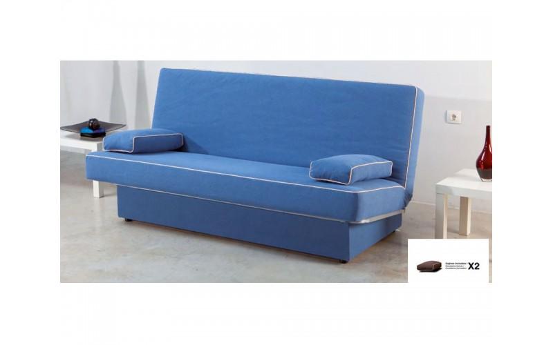 Sofá cama sitema libro modelo Jaén