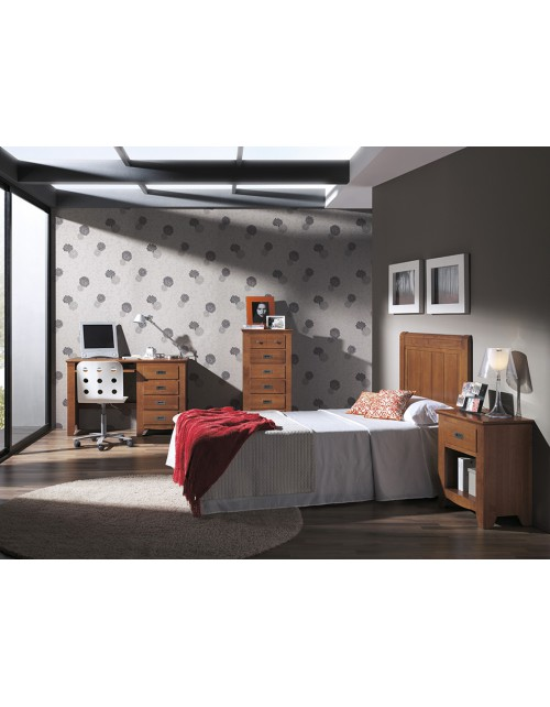 Composición Dormitorio Rústico 225