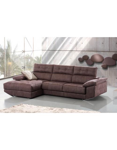 Sofá Chaise longue divani modelo Gin