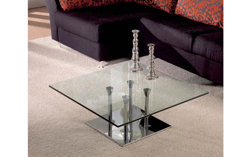 Mesa centro cristal Adriana r