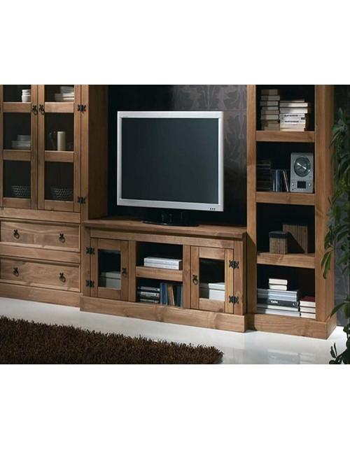 Mueble TV Rústico Colonial