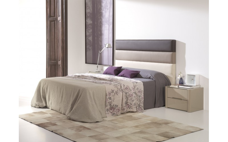 Cama LD modelo Desiree marrones