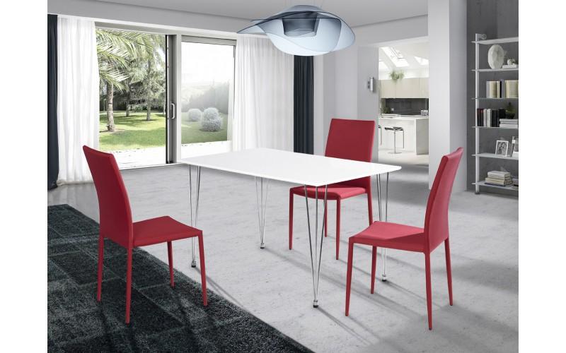 Mesa cocina cristal 75935