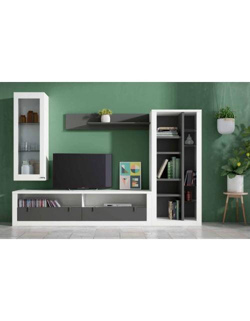 Composición Salón moderno modelo Living 7