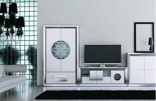 Composición salón Franco Forniture serie Serik