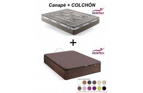 Conjunto Canapé Tango + colchón Grafeno