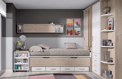 Dormitorio Juvenil de Glicerio Chaves Formas
