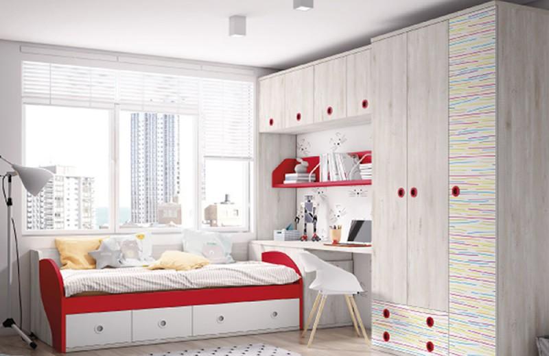 Dormitorio Juvenil de Hermanos Aparicio Donoso