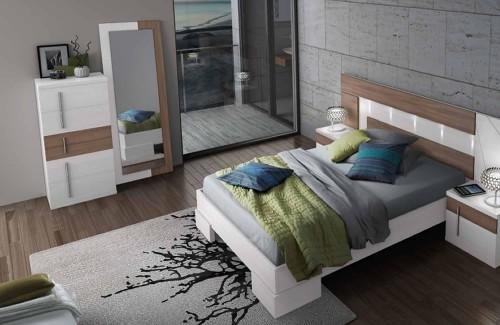 Dormitorio moderno Vamasur colección New Moon