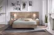 Dormitorio moderno Rosamor colección Very Wood