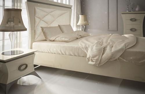 Dormitorio contemporáneo de F. Franco