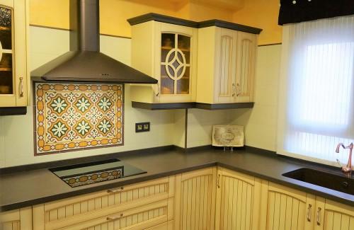 Cocina montada en Campotejar Granada