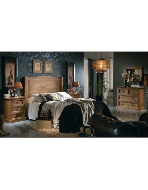 Composición Dormitorio Rustico 07