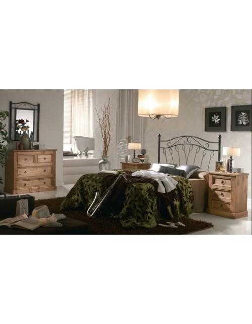 Composición Dormitorio Rustico 04