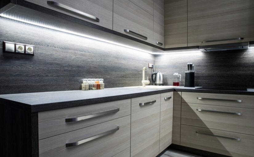 sistema de iluminación led para cocinas de electromuebles hermanos molina