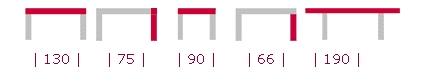 medidas mesa fija y extensible modelo 509 de perez e hijos